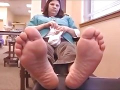 Apache Soles Feet - 44 Years Old