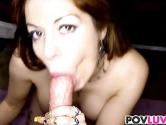 Bigtitted stepmom dick riding reversecowgirl