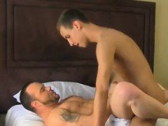 Hard adult male gay anal fuck Daddy Drew Loves Big Dicked Bo