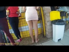 RABUDA DE VESTIDO CURTO (BIG ASS IN DRESS SHORT) 031