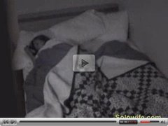 Infrared cam catches wife masturbating