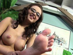 Pressley Carter Interracial Foot Fetish