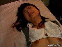 Cute Sayaka Tsutsumi hot masturbation