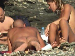 NUDITS Amateur MILF Playing - Hot NUDE Beach Babe Close-Up