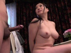 Oriental angel gets clit stimulated by vibrator before cam