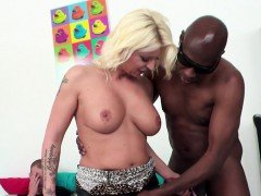 Cuckolding babe gets creampied by bbc