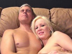Blonde MILF gets fucked in various positions