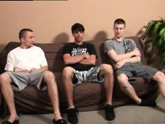 Free gay male videos boys jerking off together His head bobb