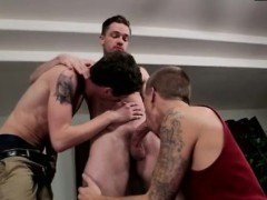 Over 40 gay anal movie and monster cock sex first time