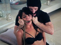 Two adorable teens get tied up Gina Valentina is one