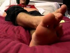Foot long gay black dick movie xxx Big Feet And Bigger