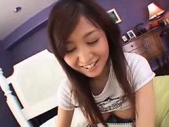 Teen Asian fingering her pussy on cam
