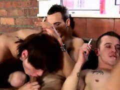 Shaved gay guys kissing and sucking male sex face movie