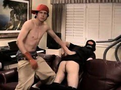 Hot gay twink spanking movie Ian Gets Revenge For A
