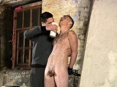 Sex small gay photo xxx Poor Leo can't escape as the