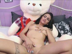 Teddy Bear Ride Cute Young Years Old Teen Girl