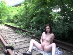 Luscious czech sweetie gets teased in the mall and reamed in