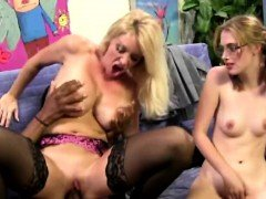 Daughter watches mom get her first BBC