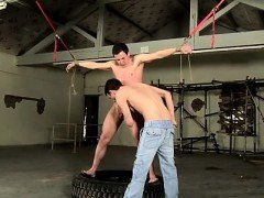 Emo bondage anal and male gay sex video Hung Boy Made To