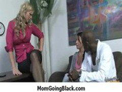 Interracial porn MILF babe gets nailed by big cock black dude 38