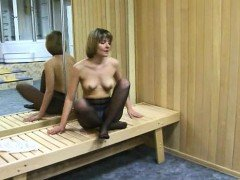 Astrid 38 years in wet Nylon Solo