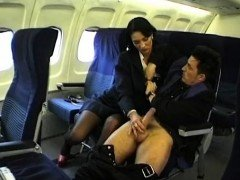 Beauty Stewardess Gets Fucked On A Plane -2 On HDMilfCam,com