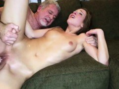 Dad convinces ally's daughter russian and step squirt