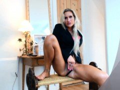MFC BlondeFreya Free Preview Ready For Moving Outside HD
