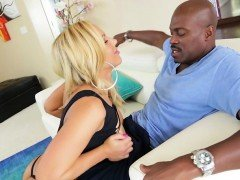 Olivia Austin takes a black cock for an intense fuck