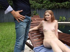 Super hot ginger patch Briar Rose fucked by huge cock