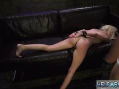 Bondage latex girl first time Helpless