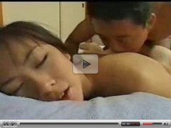 Young Japanese getting her pussy drilled hard