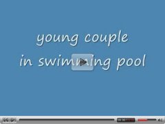 Young Couple in Swimming Pool   N15