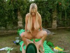 Busty Kelly Madison Gets Stoned With A Horny Leprechaun