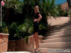 Young blonde babe Nadija gets an heavy