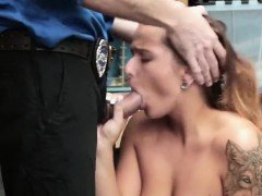 Big Tit Teen Groped For Stealing