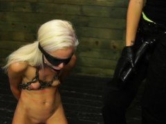 Vixen enjoys wild servitude with harsh mistresse in latex