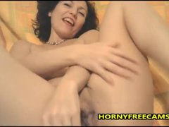 Horny MILF Will Strip And Finger Pussy For You