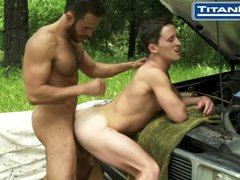 Charly Diaz and Will Parker In Toolbox
