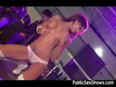 Sexy stripper loves using a vibrator