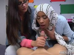 Arab fuck white BJ Lessons with Mia Khalifa