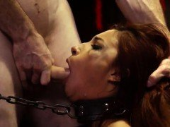 Prison domination and ebony eating pussy rough Poor