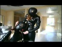 Lesbian domina is some hot action