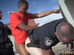 Cops get blowjob by gay guy xxx Apprehended