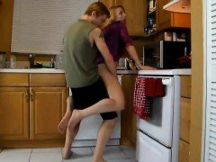 Stepmom needs son help in kitchen PT1- More On HDMilfCam.com