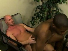 Black gay cum on ass movie and guys booty Mitch Vaughn