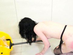 Shop lifter punished and double penetration bdsm squirt