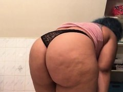 Bbw Plays With Her Pussy And Shows Ass On Webcam