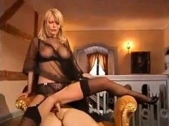 Dane Jones Big boobs blonde Milf takes big cock