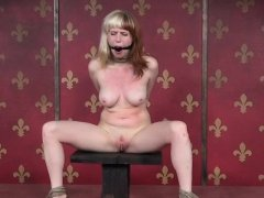 BDSM sub spanked and whipped by maledom
